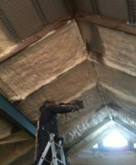 Теплоизоляция крыш напылением пенополиуретана