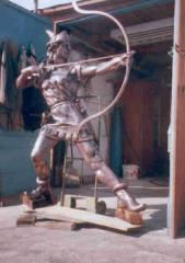 Difovka. Metal wares. Sculpture