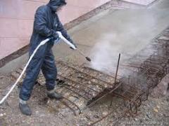 Anticorrosive protection of concrete, sanitation