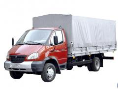 Freight transportation across Kiev and area,