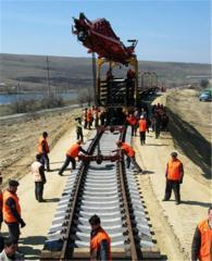 Строительство мостов железнодорожных