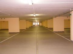 Laying of floors, production of concrete floors,