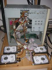 Восстановления информации с RAID массива