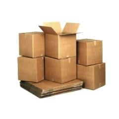Production, production of packaging from cardboard