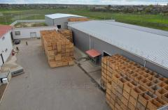 Construction and service of vegetable storehouses
