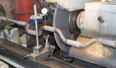 Restoration of shaft of solomotryas of combines of