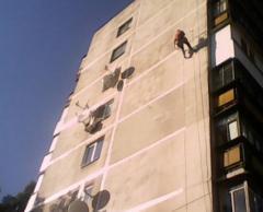 Ремонт фасадов от компании  ЛиКОН