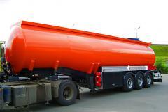 Услуги ответственного хранение  горючо-смазочных материалов до 5 тис тонн
