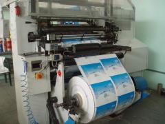 Печать на рулонах, флексо печать, услуги широкоформатной флексопечати Белая Церковь