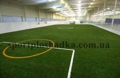 Laying and filling of an artificial grass Kharkiv.