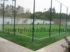 Laying of sports coverings Kharkiv. Laying of