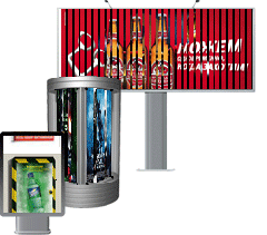 In Bila Tserkva to Order production of billboards,