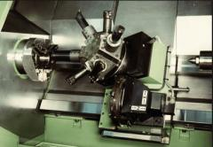 Machining of metals on machines of turning,