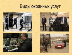 Охранные услуги, все виды услуг охраны и безопасности по Украине