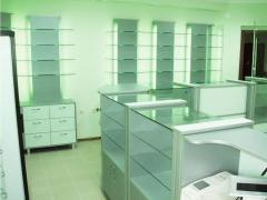 Оформление аптек | торговое оборудование для...