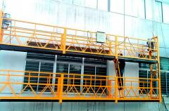 Safe methods of works at height with management of