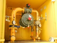 Safe methods of works in gas economy