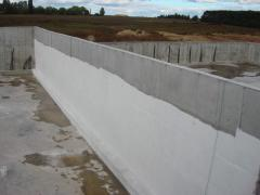 Waterproofing of the bases