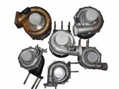 Ремонт турбин (турбокомпрессоров) всех модификаций, любой сложности