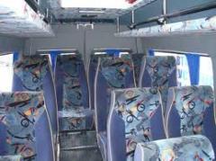Переоборудование салонов микроавтобусов ,автобусов