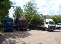 Автоперевозка грузов  до 20 т.