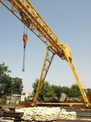 Installation of cranes - goa