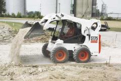 Rent pass Bobcat loader