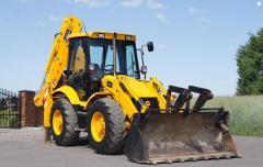 Services of the JCB 3cx, JCB 4cx excavator loader