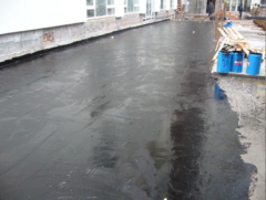 Waterproofing of parkings,