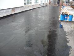 Waterproofing of parkings,