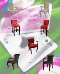 Design of furniture for cafe,  bar, ...