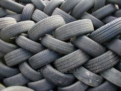 Utilization and processing of tires (tires)