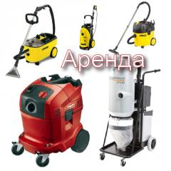 Rent equipment for cleaning