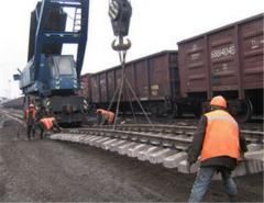 Construction of the railroads in the shortest