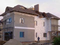 Утеплення фасадів мін.ватою Тернопіль