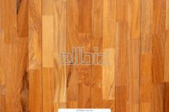 Laying of a parquet, parquet board