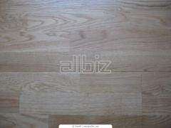 Laying of a parquet board, laying of a parquet.