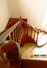 Installation of wooden designs and details,