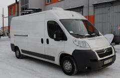 Re-equipment of minibuses of a special purpose