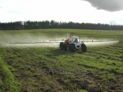 Fertilizer CAS-32 self-propelled sprayer ROSA