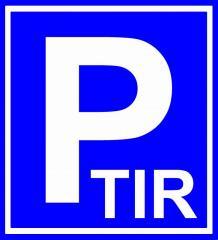 Автостоянка / Parking TIR / Парковка грузовиков