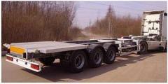 Автоперевозки контейнеровозом по Украине