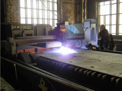 Exact plasma cutting of metal