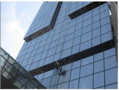 Washing of windows and facades of buildings,