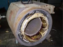 Repair of crane electric motors Zaporizhia price