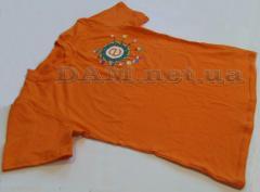 -shirt print of cues