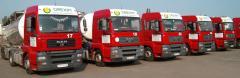 Cargo transportation of bulk freights