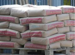 Cement storage, storage of building materials.