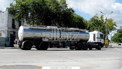 Перевозка наливных грузов, цистерны, Перевозка