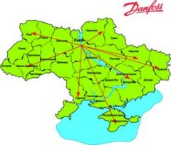 The official service partner of DANFOSS DRIVES -